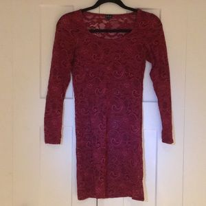Talula Lacy Bodycon Slip Dress